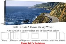 Big Sur Route 1 Hwy California Coastal Landscape Canvas Wrap 48