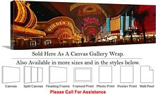 Las Vegas The Strip American Landmark in Nevada-2 Canvas Wrap 48