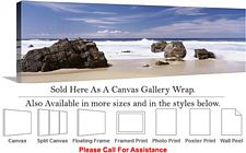 Big Sur Rocky Beach California Coastal Landscape-2 Canvas Wrap 48