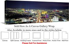 Las Vegas The Strip American Landmark in Nevada-24 Canvas Wrap 48