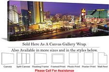 Las Vegas The Strip American Landmark in Nevada-9 Canvas Wrap 48