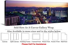 Las Vegas The Strip American Landmark in Nevada-8 Canvas Wrap 48