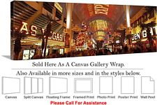 Las Vegas The Strip American Landmark in Nevada-20 Canvas Wrap 48