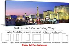 Las Vegas The Strip American Landmark in Nevada-11 Canvas Wrap 48