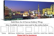 Las Vegas The Strip American Landmark in Nevada Canvas Wrap 48