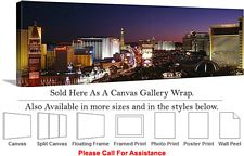 Las Vegas The Strip American Landmark in Nevada-5 Canvas Wrap 48
