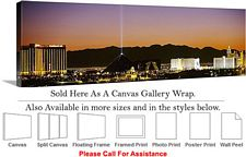 Las Vegas The Strip American Landmark in Nevada-19 Canvas Wrap 48
