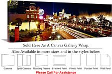 Las Vegas The Strip American Landmark in Nevada-12 Canvas Wrap 48