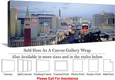 Las Vegas The Strip American Landmark in Nevada-27 Canvas Wrap 48