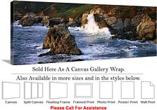 Big Sur Garrapata State Park California Landscape Canvas Wrap 48