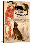 Clinique Cheron Vintage Printed On Canvas