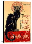 Tournee du Chat Noir Vintage Printed On Canvas