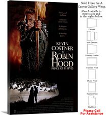 "Robin Hood Prince of Thieves Movie Theater Art Canvas Wrap 20"" x 30"""