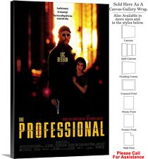 "The Professional Famous Action Movie Theater Art Canvas Wrap 20"" x 30"""