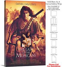 "The Last of the Mohicans Movie Theater 1992 Art Canvas Wrap 20"" x 30"""