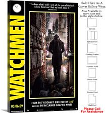 "Watchmen Famous Action Movie Theater 2008 Art-11 Canvas Wrap 20"" x 30"""