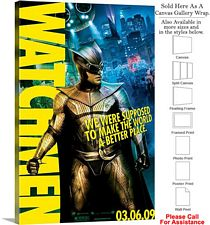 "Watchmen Famous Action Movie Theater 2008 Art-4 Canvas Wrap 20"" x 30"""