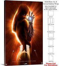 "Witchblade Famous Action Movie Theater 2009 Art Canvas Wrap 18"" x 30"""