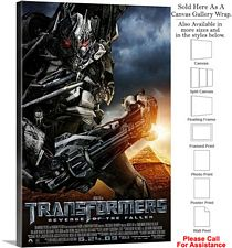 "Transformers 2 Revenge of the Fallen 2009 Movie-2 Canvas Wrap 20"" x 30"""