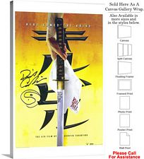"Kill Bill Vol. 1 Action Movie Theater 2003 Art Canvas Wrap 18"" x 30"""