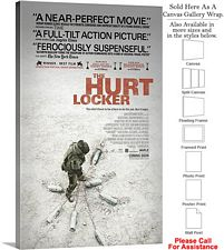 "The Hurt Locker Famous Movie Theater 2008 Art-2 Canvas Wrap 18"" x 30"""