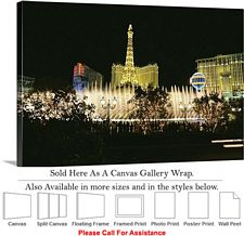 Las Vegas The Strip American Landmark in Nevada-14 Canvas Wrap 30
