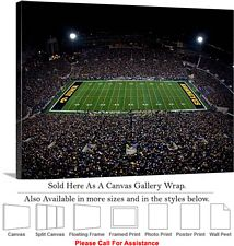 "University of Iowa Kinnick Stadium Football Game-3 Canvas Wrap 30"" x 23"""