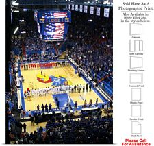 University of Kansas National Anthem Field House Photo Print 18
