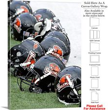 Oregon State University College Football Helmets Canvas Wrap 23