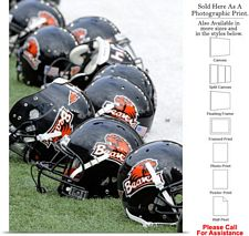 Oregon State University College Football Helmets Photo Print 18