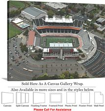 Oregon State University Football Reser Stadium-4 Canvas Wrap 30