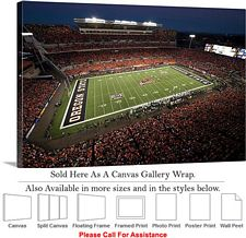 Oregon State University Football Reser Stadium Canvas Wrap 30