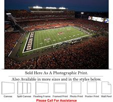 Oregon State University Football Reser Stadium Photo Print 24