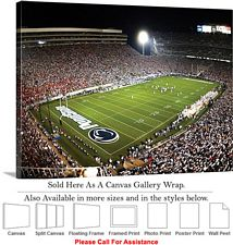Penn State University Football Game Beaver Stadium Canvas Wrap 30