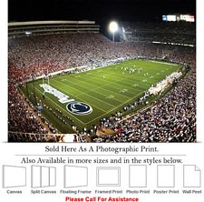 Penn State University Football Game Beaver Stadium Photo Print 24