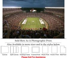 University of Alabama Bryant Denny Stadium Sports Photo Print 24