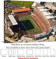 Oregon State University Football Reser Stadium-2 Canvas Wrap 30