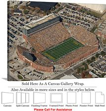 "University of Iowa Kinnick Stadium Football Game-4 Canvas Wrap 30"" x 23"""