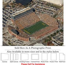 "University of Iowa Kinnick Stadium Football Game-4 Photo Print 24"" x 18"""