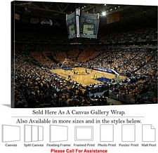 Marquette University at Bradley Center Basketball Canvas Wrap 30