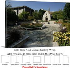 Marquette University Campus St. Joan of Arc Chapel Canvas Wrap 30