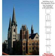 Marquette University Gesu Church Marquette Hall Photo Print 16