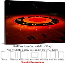Marquette University Center Court Bradley Center Canvas Wrap 30