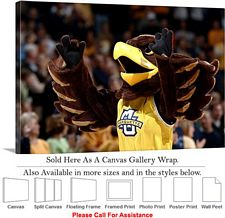 Marquette University Golden Eagle Spirit Mascot Canvas Wrap 30