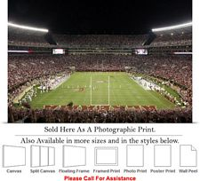 University of Alabama End Zone Football Sport Game Photo Print 24