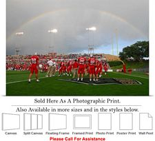 "University of New Mexico Rainbow Football Stadium Photo Print 24"" x 16"""