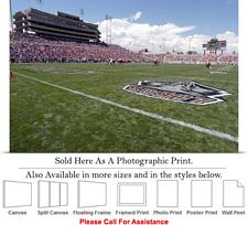 "University of New Mexico Football Stadium Field Photo Print 24"" x 16"""