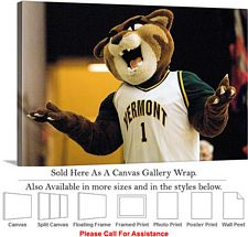 University of Vermont College Mascot Catamount Canvas Wrap 30