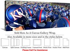 University of Kansas Jayhawk College Football Team Canvas Wrap 36