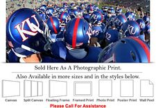 University of Kansas Jayhawk College Football Team Photo Print 30